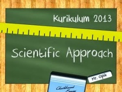 kurikulum 2013 scientific approach